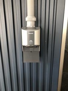 Panasonic製WK4322S充電器設置工事