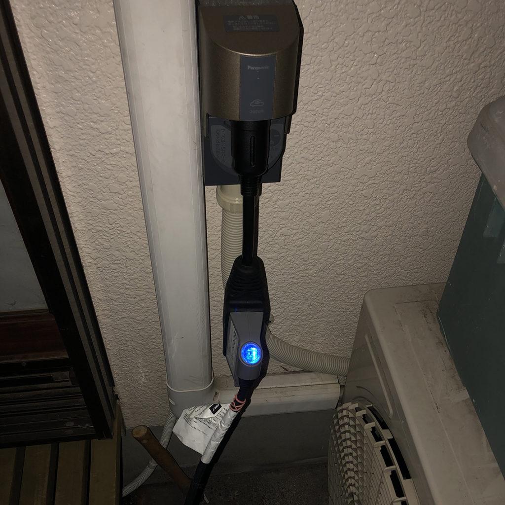 EV充電テスト